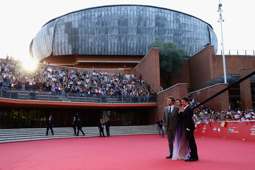 Lily Collins 'Love, Rosie' Red Carpet - The 9th Rome Film Festival