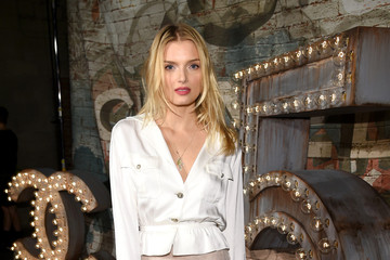 Lily Donaldson Chanel Dinner and Cocktails — Part 2
