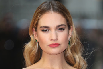Lily James 'The Guernsey Literary And Potato Peel Pie Society' World Premiere - Red Carpet Arrivals