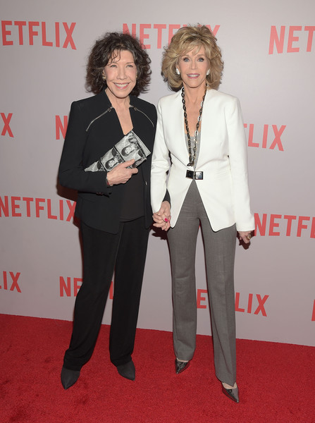 fae58466b98128 Lily Tomlin and Jane Fonda Photos»Photostream · Pictures · Netflix's 'Grace  & Frankie' Q&A Screening Event