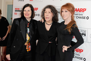 Lily Tomlin Kathy Griffin AARP's 15th Annual Movies For Grownups Awards - Arrivals