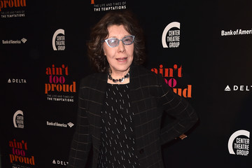 Lily Tomlin Opening Night Of 'Ain't Too Proud - The Life And Times Of The Temptations' - Arrivals