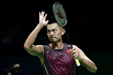 Lin Dan Total BWF World Championships 2018 - Day 3