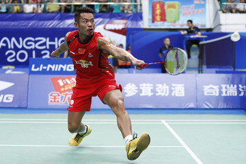 Lin Dan BWF World Championships: Day 1