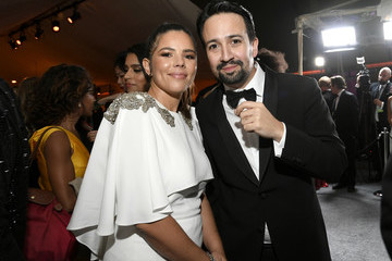 Lin-manuel Miranda Vanessa Nadal 92nd Annual Academy Awards - Governors Ball