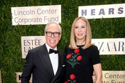 Tommy Hilfiger and Dee Hilfiger attends the Lincoln Center Corporate Fashion Gala honoring Leonard A. Lauder at Alice Tully Hall on November 18, 2019 in New York City.