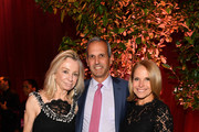 Gillian Steel, John Molner and  Katie Couric attend Lincoln Center Fall Gala at Alice Tully Hall on October 24, 2018 in New York City.