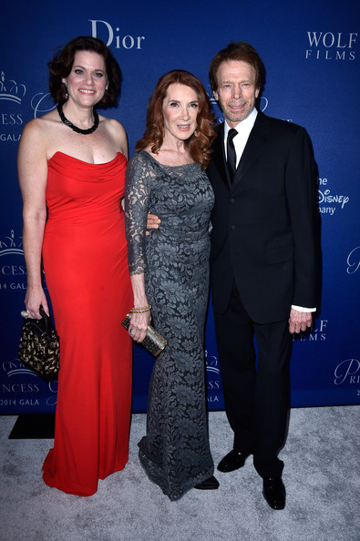Arrivals at the Princess Grace Awards Gala [dress,event,fashion,formal wear,premiere,carpet,electric blue,gown,suit,haute couture,arrivals,executive director,members,jerry bruckheimer,linda bruckheimer,toby boshak,l-r,princess grace awards,christian dior couture,princess grace awards gala]