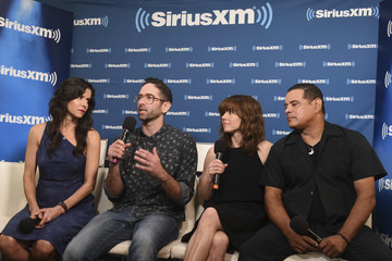 Linda Cardellini Raymond Cruz SiriusXM's Entertainment Weekly Radio Broadcasts Live From Comic-Con In San Diego