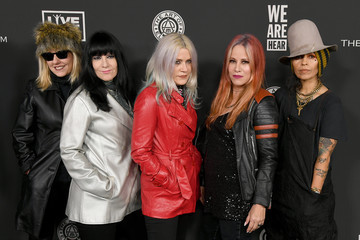 Linda Perry Donita Sparks The Art Of Elysium's 13th Annual Celebration - Heaven - Arrivals