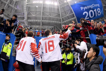 Linden Vey Ice Hockey - Winter Olympics Day 15