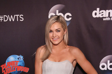 Lindsay Arnold 'Dancing With The Stars' Season 27 Cast Reveal Red Carpet At Planet Hollywood Times Square