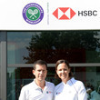 Lindsay Davenport Tim Henman And Lindsay Davenport Double Up To Hit A Winning Return For HSBC And The Wimbledon Foundation