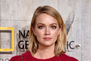 Lindsay Ellingson Premiere Of National Geographic Documentary Films' 'Free Solo' At Jazz At Lincoln Center