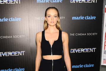 Lindsay Ellingson 'Divergent' Screening in NYC