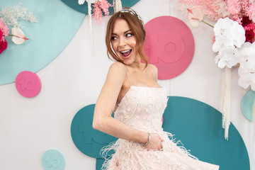 Lindsay Lohan Celebrities Attend 2019 Melbourne Cup Day