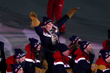 Lindsey Vonn 2018 Winter Olympic Games - Opening Ceremony