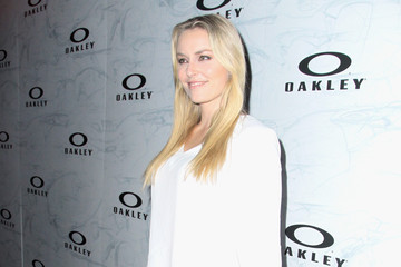 Lindsey Vonn Oakley's Disruptive by Design Launch Event - Red Carpet