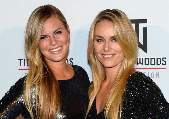 Photo of Lindsey Vonn & her Sister  Karin Kildow