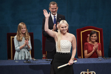 Lindsey Vonn Ceremony - Princess of Asturias Awards 2019