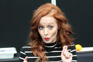Lindy Booth New York Comic-Con: Day 2