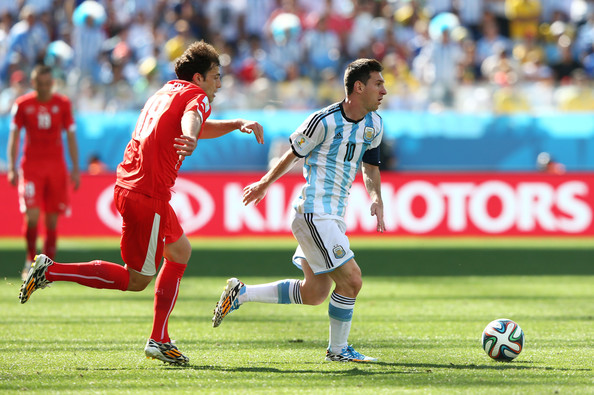 Lionel Messi Admir Mehmedi Photos Argentina v Switzerland 2 of 3