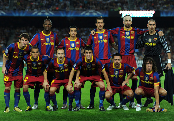 2010 2011 leonel messi david villa F.C. Barcelona