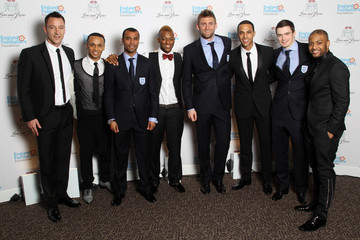 Adam Johnson Ashley Cole Lions And Roses Charity Dinner 2012 - Arrivals