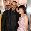 Tina Gordon Chism and Tyler Perry