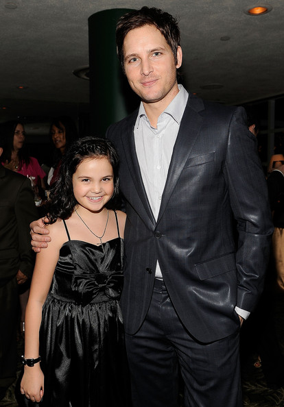 Actress Bailee Madison and actor Peter Facinelli attend the Lionsgate Golden Globe Party at Polo Lounge at The Beverly Hills Hotel on January 16, 2010 in Beverly Hills, California.