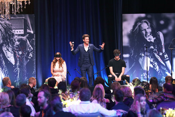 Lior Suchard Steven Tyler's Third Annual GRAMMY Awards Viewing Party To Benefit Janie's Fund Presented By Live Nation - Inside