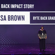 Lisa Brown WeWork Presents Creator Awards Global Finals at the Theater at Madison Square Garden - Inside
