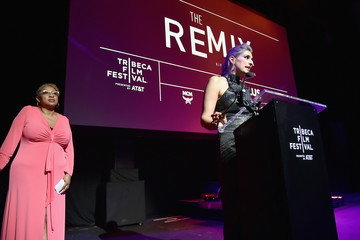 Lisa Cortes MCM Hosts The Premiere Of The Remix: Hip Hop x Fashion At Tribeca Film Festival