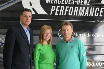 Lisa Holladay Mercedes-Benz And PGA Of America Media Reception With Bernhard Langer