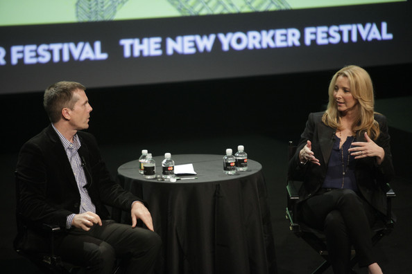 The New Yorker Festival 2012 - Lisa Kudrow And Henry Alford
