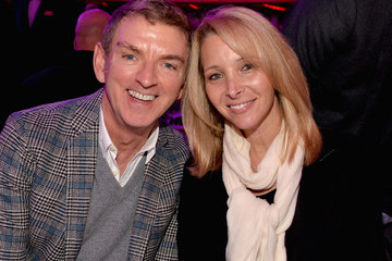 Lisa Kudrow Michael Patrick King Backstage at 'TrevorLIVE' in Hollywood