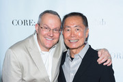 TV Personality/Actor George Takei (R) and husband Brad Altman attend an Exclusive Panel Discussion as Celebrity Apprentice Contestants Reunite at CORE: club on May 22, 2012 in New York City.