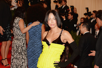 Lisa Maria Falcone Red Carpet Arrivals at the Met Gala