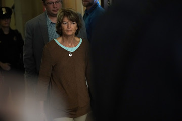 Lisa Murkowski Senate Judiciary Committee Holds Vote On Brett Kavanaugh Nomination
