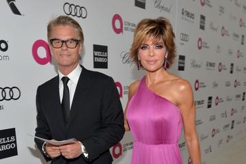 Lisa Rinna Inside the Elton John AIDS Foundation Oscars Viewing Party