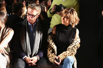 Lisa Rinna Dennis Basso - Front Row - February 2017 - New York Fashion Week: The Shows
