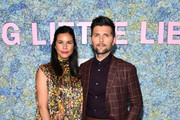 """Naomi Scott and Adam Scott attend the """"Big Little Lies"""" Season 2 Premiere at Jazz at Lincoln Center on May 29, 2019 in New York City."""