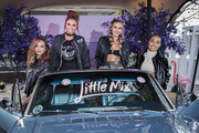 Jesy Nelson, Jade Thirlwall, Perrie Edwards and Leigh-Anne Pinnock from Little Mix attend a photocall for their new album 'Glory Days' at Riverside West on November 19, 2016 in London, England.