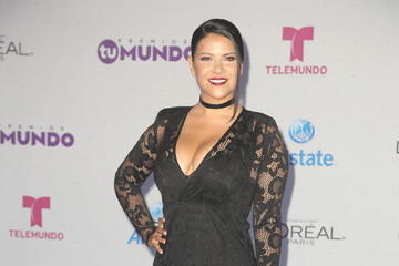Litzy Telemundo's Premios Tu Mundo 'Your World' Awards - Arrivals