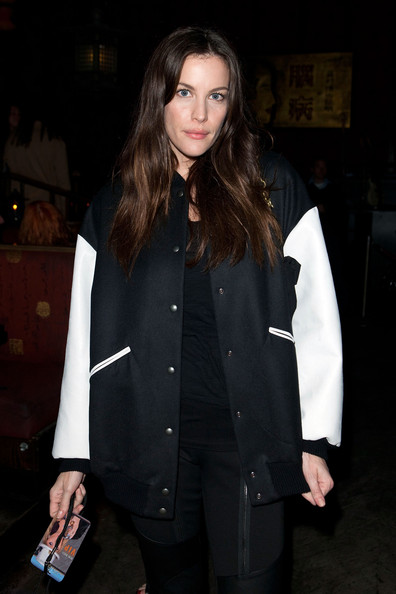 Liv Tyler Liv Tyler attends Bebe Buell's performance at the Hiro Ballroom at The Maritime Hotel on October 12, 2011 in New York City.