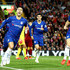 Eden Hazard Photos - Eden Hazard of Chelsea celebrates after he scores his sides second goal during the Carabao Cup Third Round match between Liverpool and Chelsea at Anfield on September 26, 2018 in Liverpool, England. - Liverpool v Chelsea - Carabao Cup Third Round