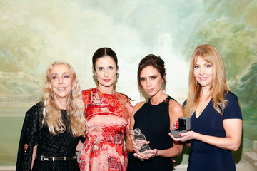 Livia Firth Evie Evangelou Fashion 4 Development's 5th Annual Official First Ladies Luncheon