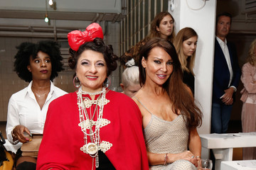 Lizzie Cundy Front Row & Arrivals - Day 2 - LFW September 2016