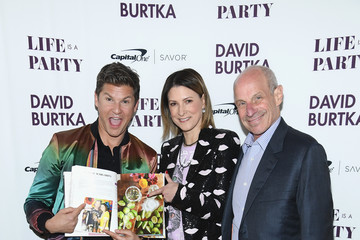 Lizzie Tisch David Burtka Celebrates The Launch Of The Life Is A Party Cookbook In New York City With The Capital One Savor® Credit Card
