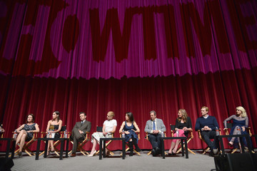 Lizzy Caplan Michael Sheen 'Masters of Sex' Panel Discussion
